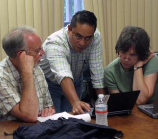 Eduardo, Dennis, and Karen