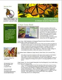 Screenshot of the May-June 2014 newsletter