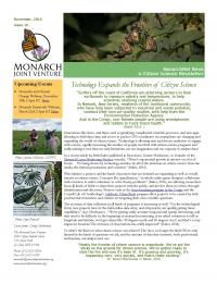 Monarch and Citizen Science News Newsletter Thumbnail